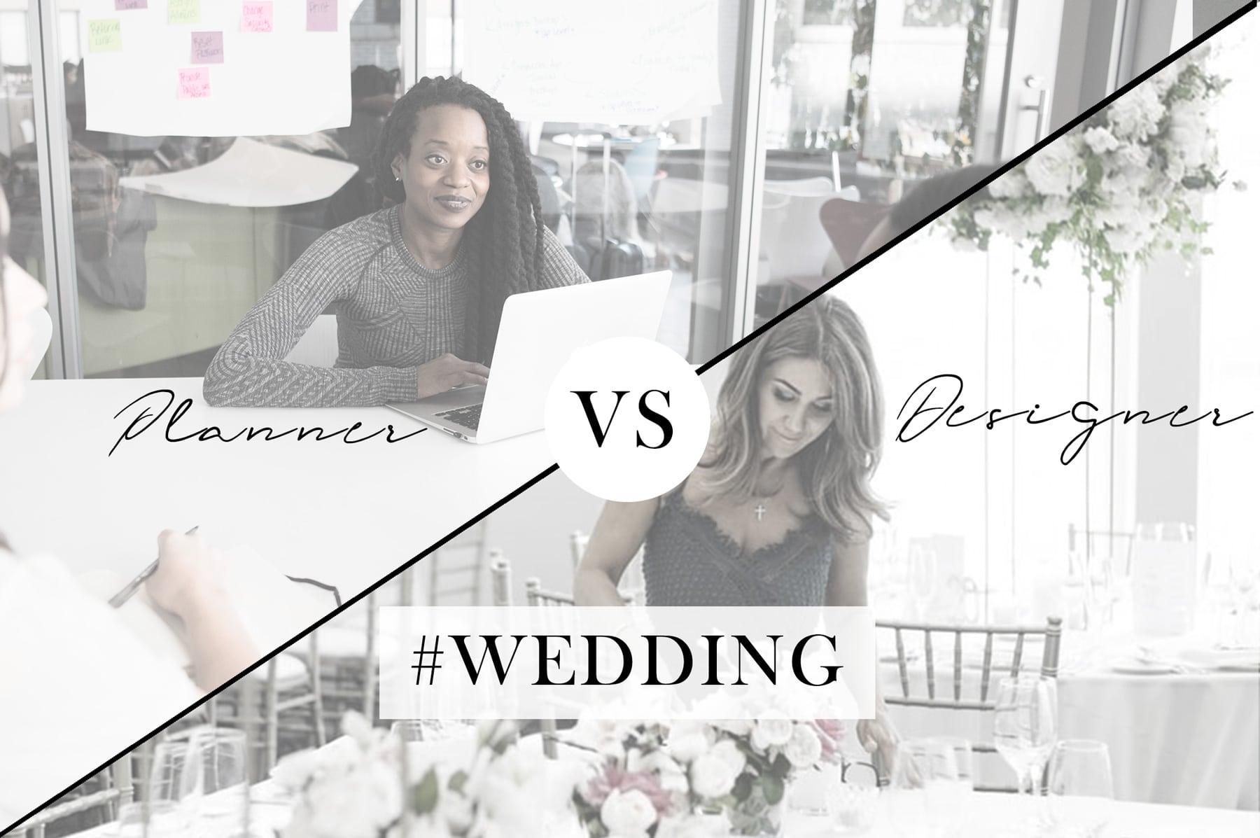 différence entre wedding planner et wedding designer